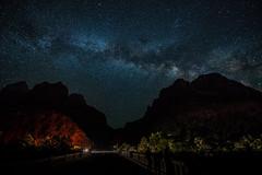 Zion, bridge to the Galaxy (surf Durrani) Tags: milky way stars astrophoto night zion national park