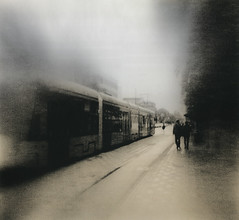 City State Of Mind by micalngelo - holga/tri-x Moersch lith/foma 123 40x50cm selenium/gold toned