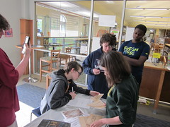 Teen Fandom Night 4/12/18 (St Charles Parish Library) Tags: teenprogram eastregionallibrary escape room puzzles mystery national poetry month nationallibraryweek