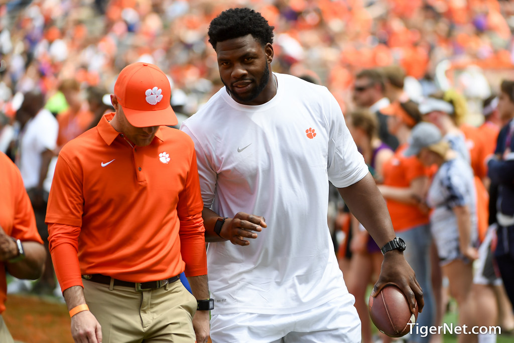 Clemson Photos: Dwayne  Allen, 2018, Football, springgame