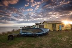 Campbell Cove (stevecart84) Tags: beach clouds sunset sunburst nature outdoors hut long exposure nikon d7200