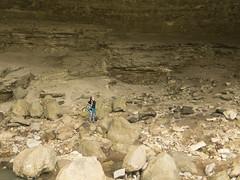 RED02857 (David J. Thomas) Tags: caves caving hiking speleology class students lostvalley edenfalls naturalbridge cobcave edenfallscave waterfall creek stream karst ponca arkansas lyoncollege