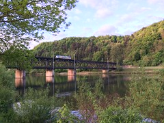 Bullay Rhineland-Palatinate Germany 28th April 2018 (loose_grip_99) Tags: bullay rhinelandpalatinate germany railway railroad rail train diesel multiple unit dmu transport mosel april 2018 valley trains railways landscape