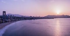 benidorm (jaimeelkito2) Tags: benidorm amanecer cielo aficionado nikon nikon7200 comunidadvalenciana largaexposicion mediterraneo playa playaponiente panoramica