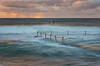 The best light (Crouchy69) Tags: sunrise dawn landscape seascape ocean sea water coast clouds sky flow motion cronulla beach pool sydney australia
