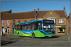 37438, Gaywood (Jason 87030) Tags: mmc enviro stagecoach norfolk kingslynn 37438 yn16orh subway gaywood january work 2018 green blue coasthopper livery new bus vehicle lighting color colour
