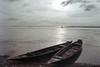 Bangladesh : The Water Wonderland (Sheikh Shahriar Ahmed) Tags: dhakadivision bangladesh jamalpur guthail bajar river jamuna brahmaputra mighty systems boat boats wide water alluvial sediment lifeblood travel travelphotography film fujicolorc200 fujifilm analog nikon nikonf80 n80 af2880mmf3345g pacificimage primefilm3650pro3 sheikhshahriarahmed
