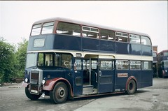 South Notts 80, Gotham, 1980 (Lady Wulfrun) Tags: pd3 ncme gotham garage 1980 pd34 80nvo 1962 southnotts bus comapnt snbc 76lnn 76 notherncounties