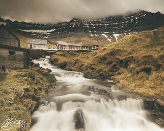 Myllá below Urðafjall