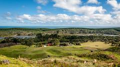 Lake Kereta (Stefan Marks) Tags: lakekereta tasmansea bush cloud grass lake nature ocean outdoor scenery sky tekorowaiotetongapeninsula northisland newzealand nzl