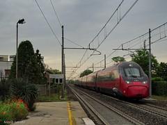 Concorrenza padana (nlovato96) Tags: ntv nuovo trasporto viaggiatori etr675 07 lerino italo av 8976 venezia milano torino pendolino alstom evo concorrenza