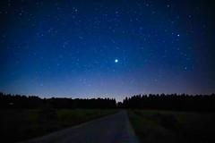 Sternenhimmel über dem Nationalpark Eifel (clemensgilles) Tags: beautiful astrofotographie stars sternenhimmel darkness nationalpark nachtfotografie germany eifel deutschland