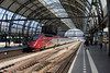 Under The Arch (gooey_lewy) Tags: netherlands holland rail electric europe amsterdam central station nederlandse spoorwegen centraal ns train track capital through 1889 international hour thalys tgv trans grand vitesse high speed service pbka series 43000 toof arch roof 4302