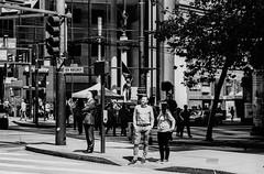 New Montgomery Street, San Franciso (Postcards from San Francisco) Tags: m6 film analog jchstreetpan400 rodinal sanfrancisco 90mmmacroelmarm