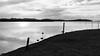 Imagine your way... (gillesgxl) Tags: landscape bw black white blanc noir monochrome paysage sea water mer eau terre land sky clouds martinique antilles