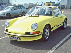 425 Porsche 911 Carrera RS (1973) (robertknight16) Tags: porsche german germany 1970s 911 carrera zuffenhaussen silverstone vscc hwk832l