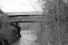 Pont de la Frontière (pegase1972) Tags: québec quebec canada estrie pont bridge coveredbridge qc easterntownships rivière river licensed shutterstock