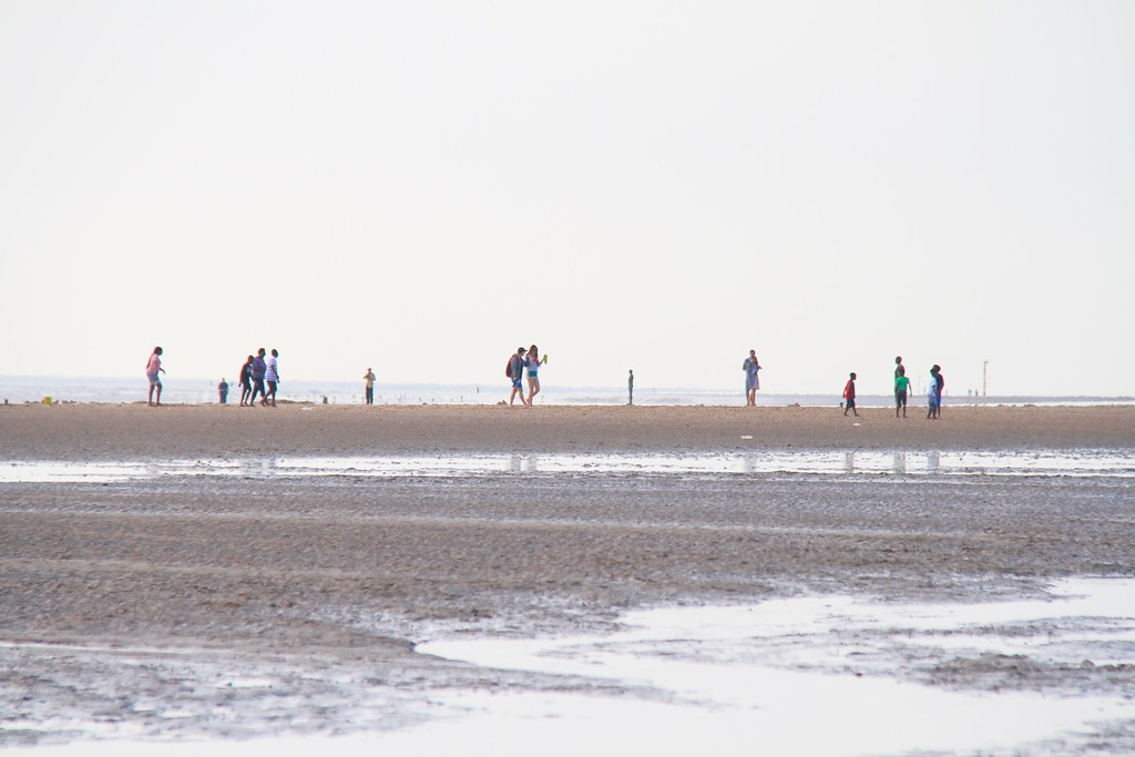 Crosby Beach with Iron Man