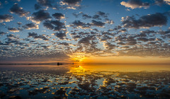 Indian River Sunrise (Tedj1939) Tags: sunrise nature seascapes sun morning dawn clouds sky river indianriver