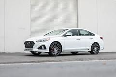 2018 Hyundai Sonata on TSW Chicane wheels - 4 (tswalloywheels1) Tags: white 2018 hyundai sonata tsw chicane concave monoblock aftermarket wheel wheels rim rims alloy alloys