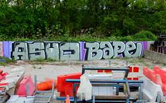 Asuo & Baipe (oerendhard1) Tags: graffiti streetart urban art vandalism illegal rotterdam oerendhard asuo baipe ob obs