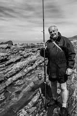 Jim (evans.photo) Tags: fishing people portrait ceredigion fisherman aberystwyth borth wales coast sea leisure