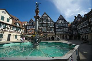 marketplace in Schorndorf