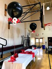 "#Wildcats (PartiLife) Tags: basics redblackwhite bigballoon 36""balloon"