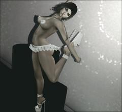 Ballet...in these heels?! (~GraceSixpence~) Tags: blush boundbox c88 catwa fabia kustom9 maitreya minimal moda narcisse ozdesign theskinnery yummy la sl slfashion secondlife