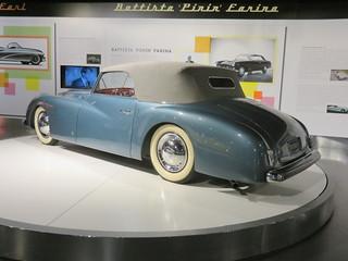 20170517 Italie Turin -  Musée de l'Automobile - Alfa Romeo 6C 2500 Sport Cabriolet Extralusso (design Michelotti) -(1947)-002