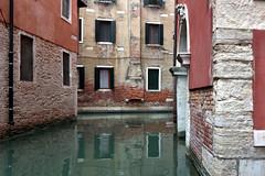 backstreet canal in Venice - Italy