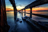 Sunrise perspective (Stan Smucker) Tags: pier ruins huahin thailand perspective sunrise sunset
