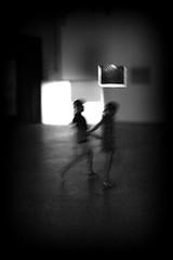 running wild (bostankorkulugu) Tags: pirelli hangarbicocca bicocca milano italia milan italy lombardia art artwork pirellihangarbicocca fromsourcetopoemtorhythmtoreader exhibition rosabarba noice grain kids children running motionblur light