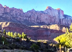Welcome to Zion (phthaloblu) Tags: mountains zion utah
