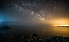 Menorcan light pollution (A Crowe Photography) Tags: menorca milkyway nighttimephotography nightsky longexposure longexposurephotography favàritxlighthouse