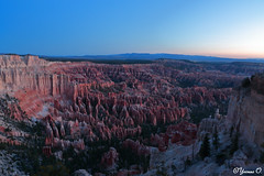 Bryce Canyon before sunrise [in Explore May 21, 2018] (Yvonne Oelsner) Tags: brycecanyon nationalpark utah landscape scenery beforesunrise longexposure sky nature explore dawn