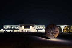 Staatstheater Nacht (kurzkarl74) Tags: darmstadt hessen deutschland theater staatstheater platz nacht