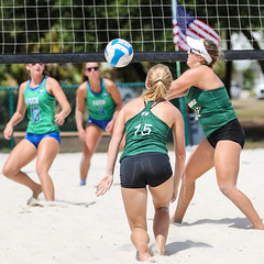 FGCU vs. Jacksonville 2018-04-13-1935 (Pacific Northwest Volleyball Photography) Tags: beachvolleyball ncaa womensvolleyball fgcu jacksonville