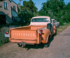need a lift? (Keegan L) Tags: truck antique old americana usa route66 film analog oldcar roadtrip 120mm plaubel makina 67 6x7 160ns fujifilm mediumformat