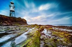 Severn Estuary (HannahGE) Tags: gloucestershire somerset rocks water lowtide landscape seascape uk coast westcountry blacknore lighthouse portishead