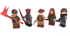 We could be heroes, just for one day (nadaworkshop) Tags: ww1 lego custom paimted anzac west eastern front red army bolsheviks death battalion german germany australia africa baron