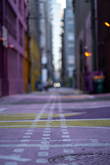 Pink Alley (Sworldguy) Tags: pinkalley vancouver alley downtown urban cityscene creative fresh reclaimed sony a7iii pink yellow pavement
