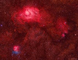 The Sagittarius Trio