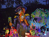Dark Things (BKHagar *Kim*) Tags: bkhagar mardigras neworleans nola la parade celebration people crowd beads outdoor street napoleon uptown proteus kreweofproteus float night scary dark skull