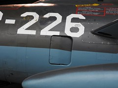 """F-84F Thunderstreak 9 • <a style=""""font-size:0.8em;"""" href=""""http://www.flickr.com/photos/81723459@N04/26881995917/"""" target=""""_blank"""">View on Flickr</a>"""