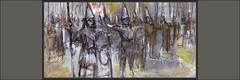 ASIRIA-ARTE-PINTURA-SOLDADOS-ASIRIOS-IMPERIO-ASIRIO-GUERRA-EJERCITO-INFANTERIA-LANCEROS-PINTURAS-DETALLES-ARTISTA-PINTOR-ERNEST DESCALS (Ernest Descals) Tags: asiria asirios imperio asirio arte art artwork war guerra guerras siria irak mesopotamia naciones soldados soldiers soldats army ejercito men infanteria formacion lanceros historia history personajes historicos antigüedad ancient assyria assyrians empire reyes dioses pintar pintando pintura militar military pinturas pintures cuadros detalles quadres historics pintor pintors pintores painter paint pictures painters paintings painting plastica ernestdescals artistas plasticos artistes artist escenas historicas combate armas weapons infantry imperioasirio sargon rey king