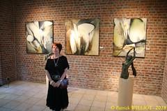 IMG_9406 (Patrick Williot) Tags: exposition vernissage ecuries sculpteur michal peintre genevieve nicolas