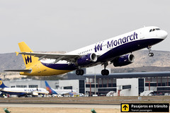 Airbus A321 Monarch G-ZBAG (Ana & Juan) Tags: airplane airplanes aircraft airport aviation aviones airbus aviación a321 monarch monarchairlines takeoff departure alicante alc leal spotting spotters spotter planes canon closeup