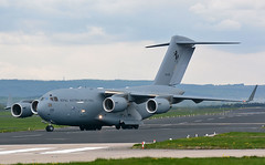 A41-206 (np1991) Tags: royal air force raf lossiemouth lossie moray scotland united kingdom uk nikon digital slr dslr d7100 camera sigma 50500mm 50 500 50500 bigma lens aviation planes aircraft boeing c17a c17 globemaster iii globe master australia australian raaf 36 squadron sqn heavy transport