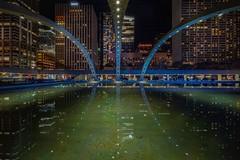 3 lines (karinavera) Tags: city longexposure night photography cityscape urban ilcea7m2 canada toronto lines